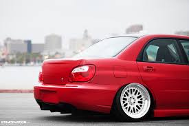 sti subaru red simplicity is beauty tucker u0027s subaru wrx stancenation