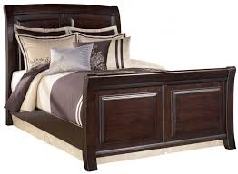 Cherry Sleigh Bed Bed Frames Wallpaper High Resolution Upholstered Sleigh Bed King