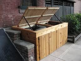 Trash Can Storage Cabinet Attractive Outdoor Trash Can Storage Storage Cabinets Storage