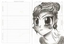 small sketch in the homework diary no 1 by madiedraws on deviantart