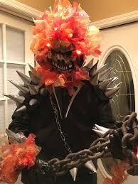 ghost rider mask costume ghost rider mcu tampa comicon 2017 cosplay amino