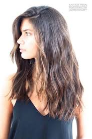 shoulder length layered longer in front hairstyle long layered haircut dark brown hairstyles ideas for me