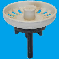 Indian Ivory Kitchen Sink Basket Strainer Waste Plug - Kitchen sink basket strainer waste