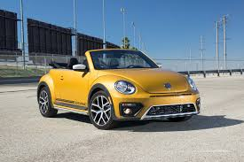 volkswagen beetle 2017 volkswagen beetle dune convertible first test review motor