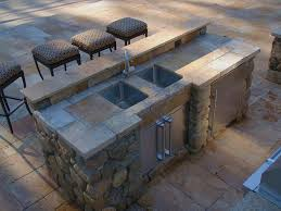 outdoor kitchen countertops ideas striking kitchen countertop materials with bowl kitchen sink