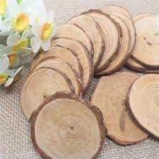 sale 20pcs vintage shabby chic wood decor diameter 5 6cm log sheet