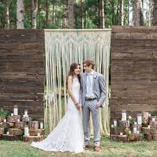 Wedding Backdrop Rustic 15 Macrame Wedding Backdrop Ideas U2014 The Bohemian Wedding