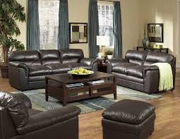 Living Room Ideas With Black Leather Sofa Masculine Living Room Decoration For Guest Make Comfortable