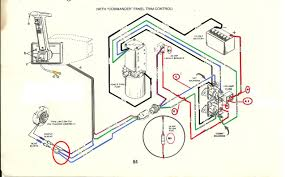 mercruiser trim pump wiring diagram on mercruiser images free