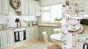 updated kitchen tour shabby chic style youtube updated kitchen tour shabby chic style