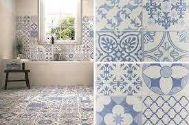 five of the best patterned floor tiles for the home