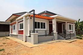 Modern Single Storey House Plans Modern Single Story House Plan With 2 Bedrooms Amazing