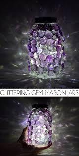 Diy Solar Light by Glittering Gem Mason Jars With Diy Solar Lids Dream A Little Bigger