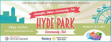 hyde park community fair 2017 perth