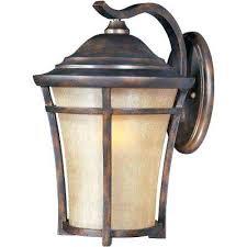 lexington outdoor lighting balboa copper oxide outdoor wall mount