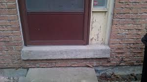 How To Replace Exterior Door How To Replace Exterior Door On Cement Sill Windows And Doors