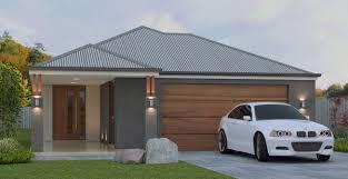 new 4 bedroom narrow lot house plans garage on zero boundary