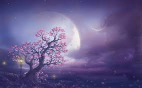 Pink Moon Pink Moon Fantasy Art Wallpapers