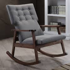 Home Furniture Chairs Furniture Beautiful Upholstered Rocking Chair For Home Furniture