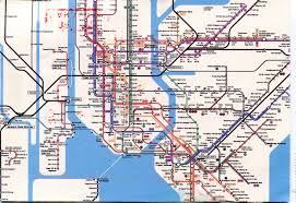 Kansas City Metro Map by New York City Subway Map Remembering Letters And Postcards