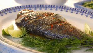 Seeking Branzino Cast Berry Whole Seabass With Lime And Dill Butter Recipe On