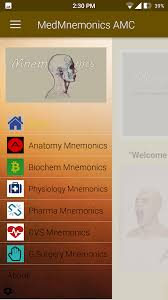 A Anatomy Medical Mnemonics Android Apps On Google Play