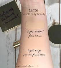 tarte shape tape concealer in light neutral tarte colored clay liquid foundation via miss o beauty beauty i