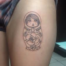 80 cool matryoshka tattoos