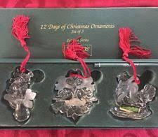 waterford 12 days ornament set ebay