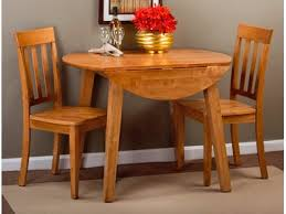 Drop Leaf Table And Chairs Round Drop Leaf Table Knc45228