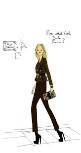 35 best burberry images on pinterest fashion illustrations