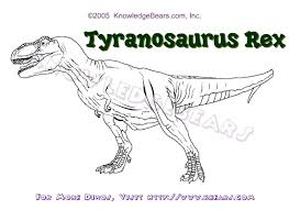 rex dinosaurs information and coloring pages kbears bebo pandco