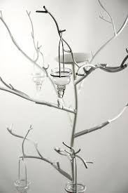 metal display candle tree 71in event decor