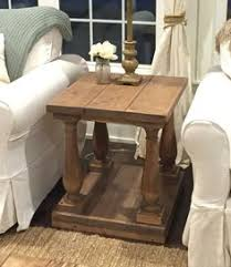 Baluster Coffee Table Large Square Rustic Baluster Wide Plank Coffee Table Mama
