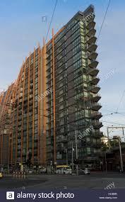 architecture modern apartment building in melbourne victoria