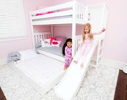 Bunk Beds With Trundle Bed Add A Slide To Your High Bunk Bed With The Poof Maxtrix