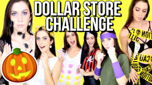 dollar store halloween costume challenge courtney lundquist