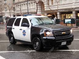 minecraft police car ford explorer sfpd cop vehicle rolls down market street during
