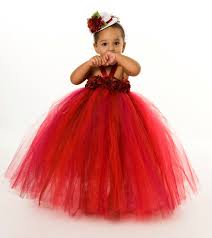 red christmas dresses for toddlers evening wear