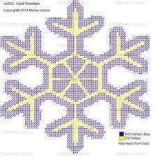 free printable halloween plastic canvas patterns giant snowflake 4 plastic canvas pattern my plastic canvas