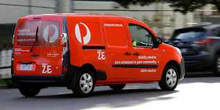renault kangoo z e electric vans join australia post fleet in