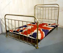 Brass Double Bed Frame A Good Victorian Brass Double Bed Antiques Atlas