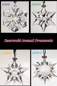 1999 annual ornament swarovski ornaments