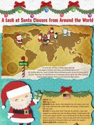 top 5 santa claus infographics