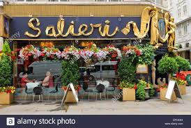 covent garden family restaurants london uk july 9 2014 facade of the salieri italian restaurant