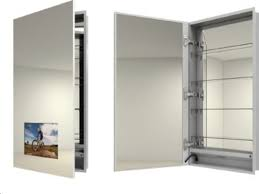bathroom archer aluminum mirrored medicine cabinets for bathroom