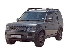 black land rover lr3 land rover discovery lr3 lr4 load bar kit foot rails by front