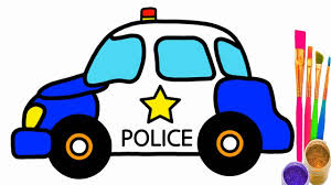 kid car drawing how to draw police car police car coloring pages for kid