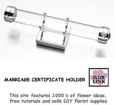 wedding certificate holder marriage certificate holder