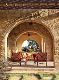 exterior wall corridor houses imanada photos hgtv outdoor loggia